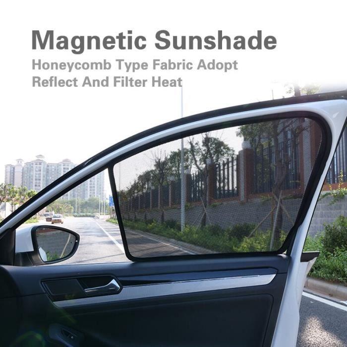 Pare soleil solaire pour VOLVO S60L S60 V40 V60 XC60 XC90 2 pièces, pare soleil de protection latérale de voiture, pare LX7666