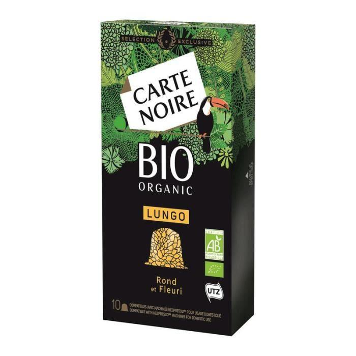 CARTE NOIRE Café capsules Lungo Bio organic - 55 g