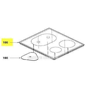 Dessus verre vitro - ceram pour plaque de cuisson …
