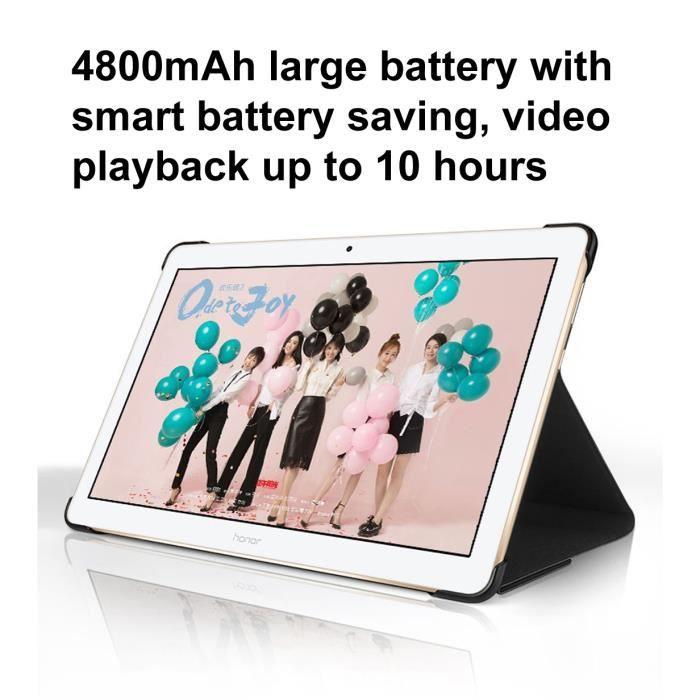 [Neuf] Tablette Tablette Pc Huawei Mediapad T3 10 Ags W09, 9,6 pouces, 2 Go + 16 Go, Rom mondiale officielle, Emui 5.1 (Basé sur
