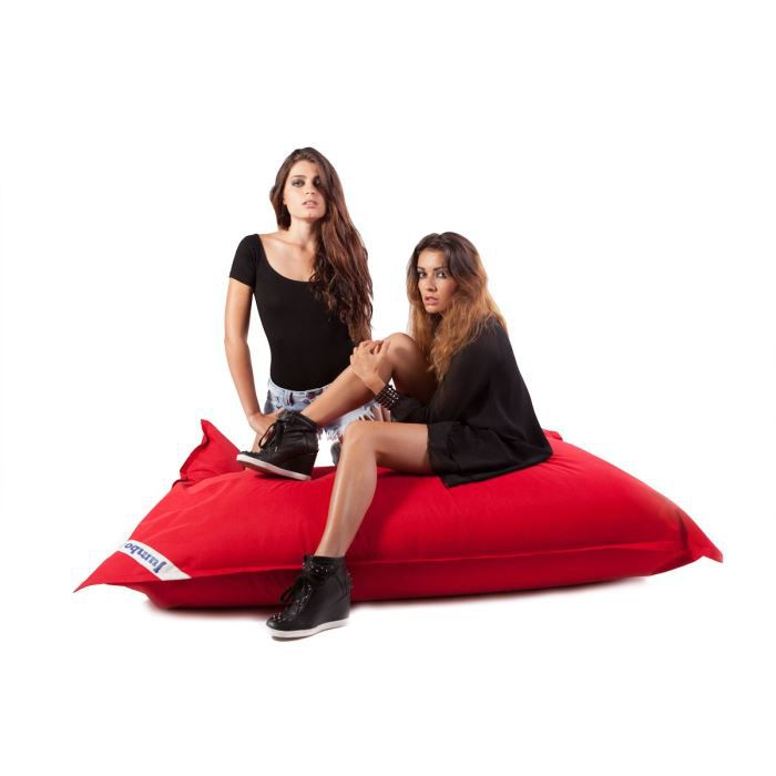 JUMBO BAG - Coussin géant Jumbo Original - Rouge - 130x170 cm
