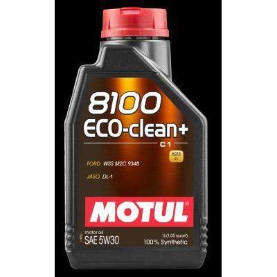 MOTUL Huile 8100 ECO-CLEAN+ C1 5W30 1L (bidon) - Huile auto