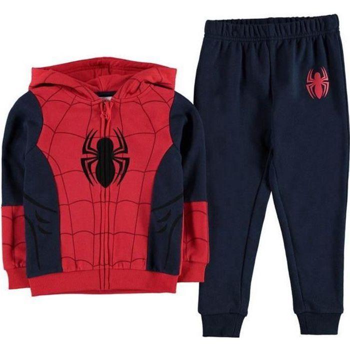 Survêtement à Capuche Enfant Spiderman