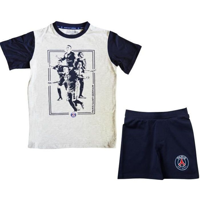 Pyjashort PSG enfant - Collection officielle PARIS SAINT GERMAIN