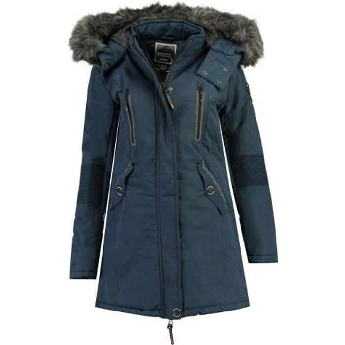 Parka Femme Geographical Norway Coraly Marine