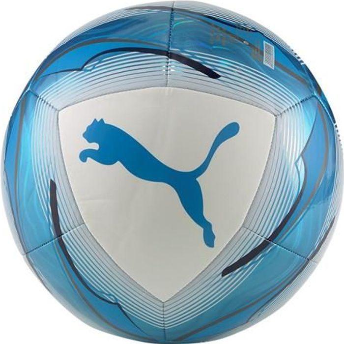Ballon OM Icon 2020/21 - blanc/bleu azur - 37 cm