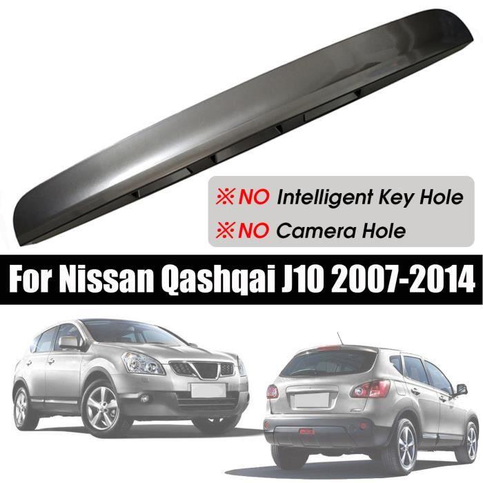 NEUFU Poignée de couvercle de coffre de hayon Auto 3trous pour Nissan Qashqai J10 07-14 -Gris