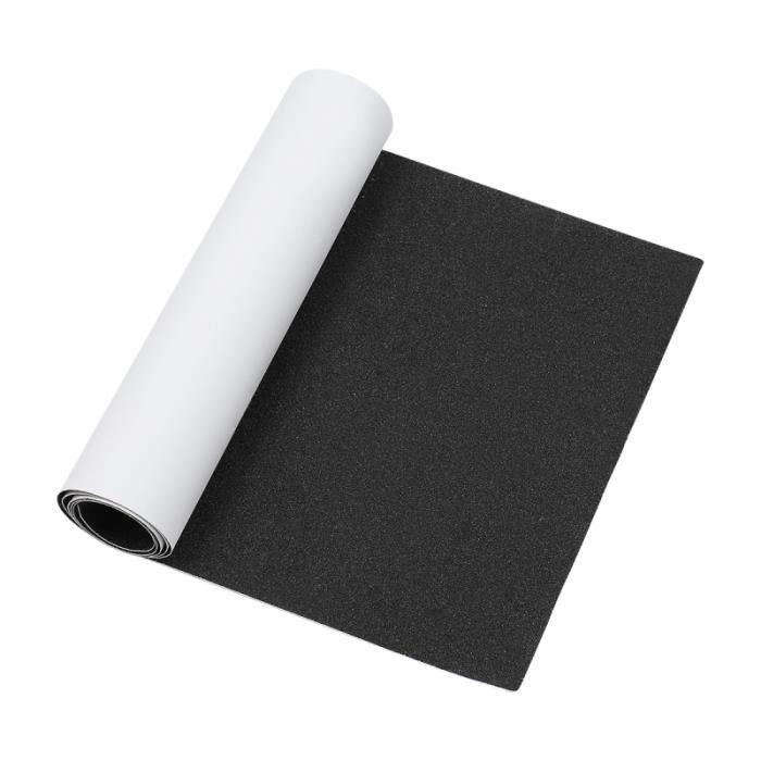 VORCOOL Skateboard Grip Tape Feuille Papier abrasif pour Rollerboard Escaliers SKATEBOARD - SHORTBOARD - LONGBOARD - PACK