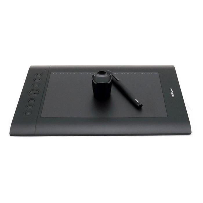 Huion H610 Pro Tablette graphique de peinture avec sac et gant de dessin