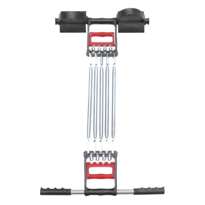1 Pc traction corde jambe entraînement Muscles renforcer pied asseoir ressort pédale équipement de APPAREIL ABDO - PLANCHE ABDO