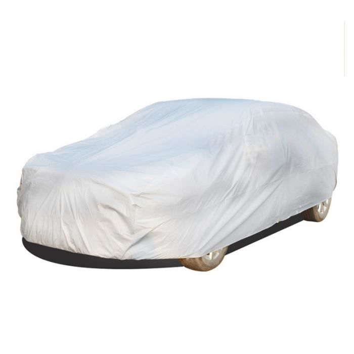 Bâche pour Voiture SUV Exterieur Impermeable Argent Housse de Protection SUV Étanche Couverture L Pookso1