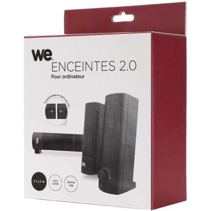 WE Enceintes - 2.0 - 2 x 2.5W