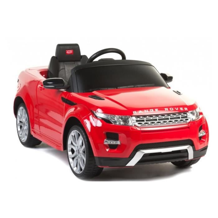 voiture lectrique pour enfant 4x4 range rover rouge. Black Bedroom Furniture Sets. Home Design Ideas