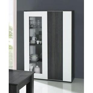 argentier vaisselier contemporain electra colori achat. Black Bedroom Furniture Sets. Home Design Ideas
