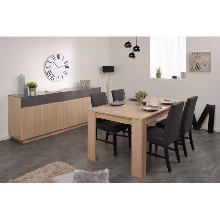 Ensemble s jour table et enfilade clea achat vente for Ensemble salon complet
