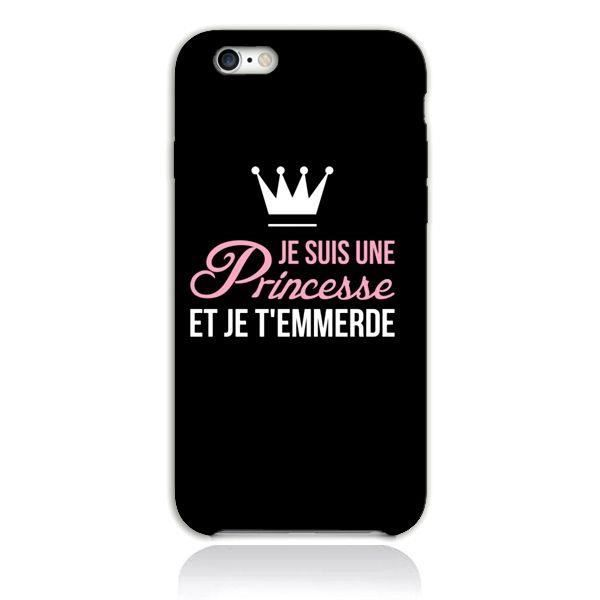 coque iphone 5 phrase princesse