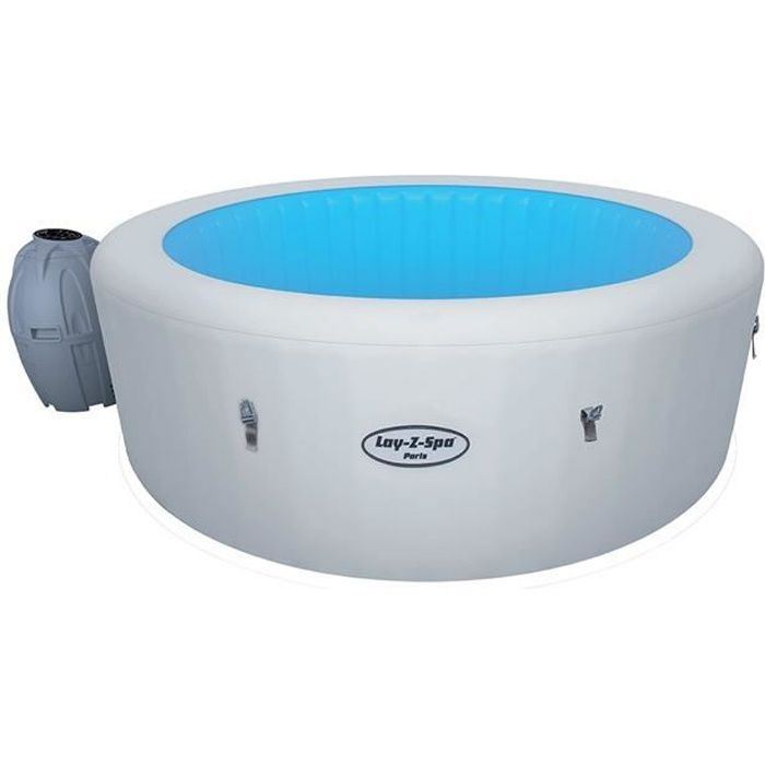 Spa Bestway Lay Z Spa Paris Airjet O196 X 66cm Achat Vente Spa Complet Kit Spa Spa Bestway Lay Z Spa Paris Cdiscount