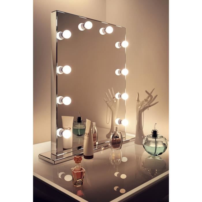 Miroir Hollywood Maquillage Achat Vente Pas Cher