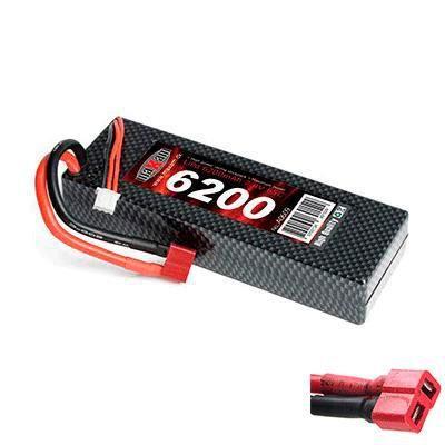 ACCESSOIRE MAQUETTE Batterie Accu LiPo 65C 7,4V 6200 mAh prise Dean T