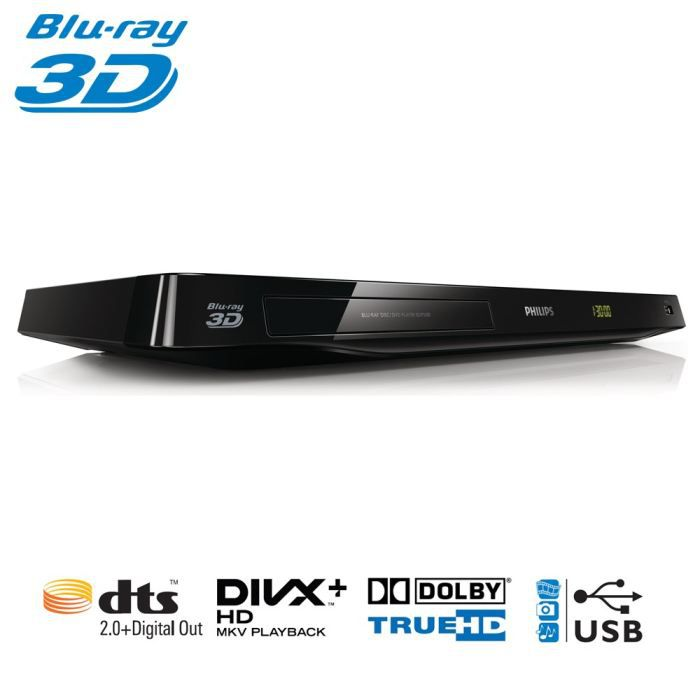 philips bdp3380 lecteur blu ray 3d lecteur blu ray prix pas cher cdiscount. Black Bedroom Furniture Sets. Home Design Ideas