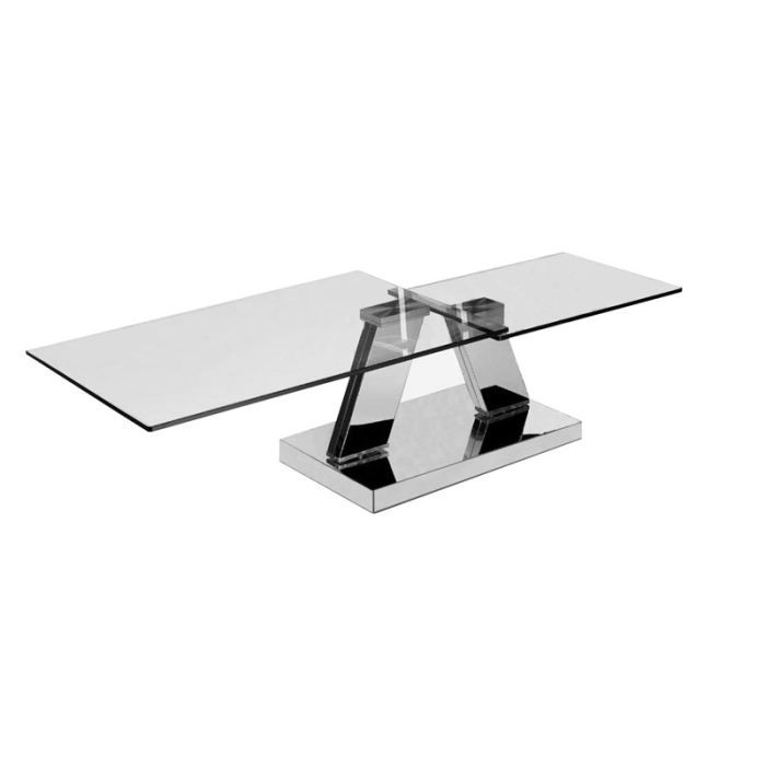 Table basse design rectangulaire plateaux pivot achat - Table basse rectangulaire design ...