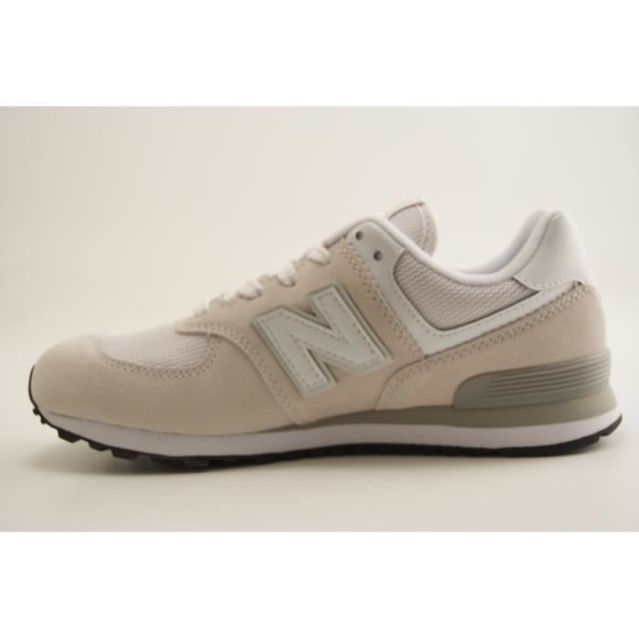 NEW BALANCE KIDS-KL574GV-TRAINING LACET-BLANC
