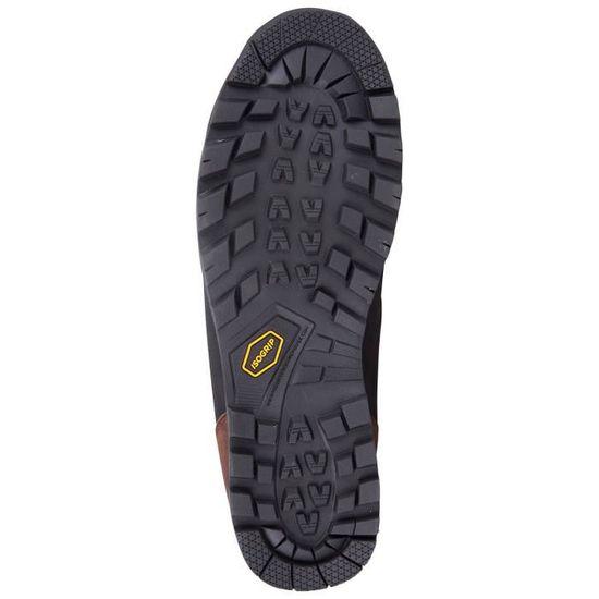 Homme Marron Discovery imperméable cuir IsoGrip Bottes De Randonnée Chaussures