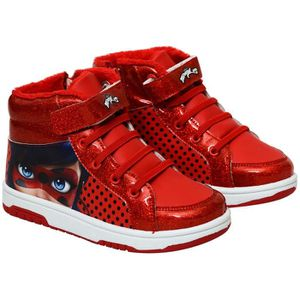BASKET MIRACULOUS Baskets Rouge Enfant Fille 1eb37827c72