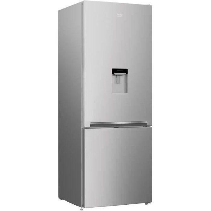 RÉFRIGÉRATEUR CLASSIQUE BEKO REC52S - Réfrigérateur congélateur bas - 450L