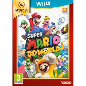 JEU WII U Super Mario 3D World Select Jeu Wii U