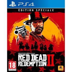 JEU PS4 Red Dead Redemption 2 Édition Spéciale Jeu PS4