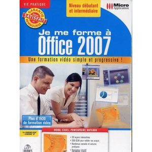 JEU PC JE ME FORME A OFFICE 2007 / PC DVD-ROM