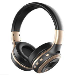 OREILLETTE BLUETOOTH Casque d'écoute sans fil Bluetooth avec écouteurs