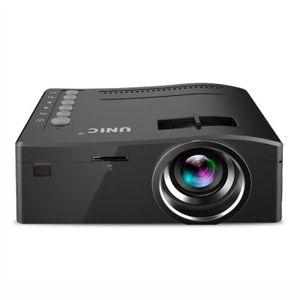 Vidéoprojecteur Portable 1080P Full HD Mini Home Projecteur Home C