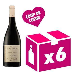 VIN ROUGE Faugères Grande réserve vin rouge 6x75cl Ollier Ta
