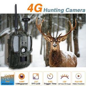 APP. PHOTO MINIATURE GPS chasse caméra 4G faune caméra de piste pièges