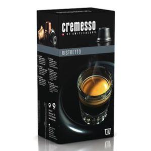 CAFÉ - CHICORÉE Cremesso Ristretto, Capsules, Noir
