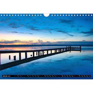 TABLEAU - TOILE CD-55875 vue A4 paysage lac Starnberg