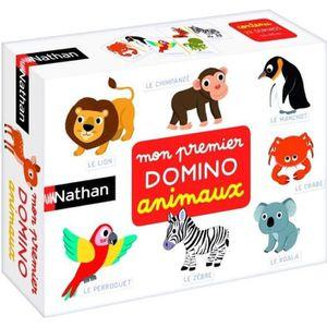 JEU D'APPRENTISSAGE NATHAN - Mon Premier Domino Animaux