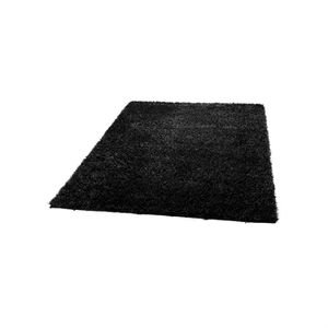 tapis 200x300 noir achat vente tapis 200x300 noir pas cher cdiscount. Black Bedroom Furniture Sets. Home Design Ideas