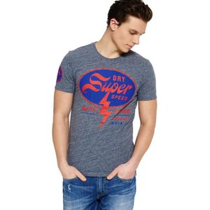 T-SHIRT T-shirt Superdry House Of Speed Pearl Blue Grindle