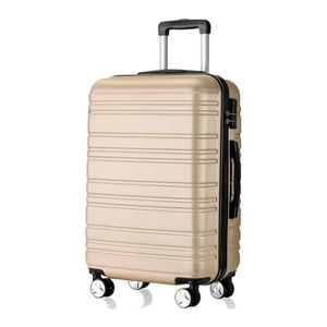VALISE - BAGAGE Valise pour voyage Trolley Coquille Dure Avec roue