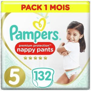 COUCHE Pampers Active Fit Pants Taille 5, 132 Couches-Cul