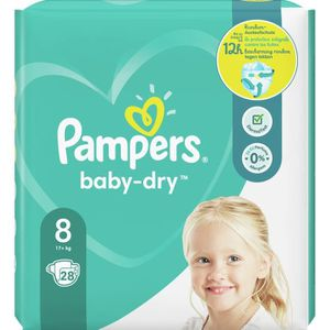 COUCHE Pampers Baby-Dry Taille8, 28Couches
