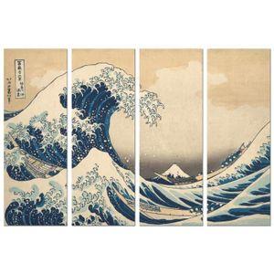 AFFICHE - POSTER Panorama® Poster Hokusai La Grande Vague de Kanaga