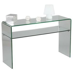 console meuble transparente achat vente console meuble. Black Bedroom Furniture Sets. Home Design Ideas