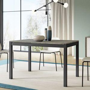 TABLE À MANGER SEULE Table extensible / Table à rallonge - ALBERTO - 12