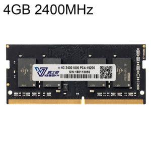 MÉMOIRE RAM Vaseky 4GB 2400MHz PC4-19200 DDR4 Module Mémoire R