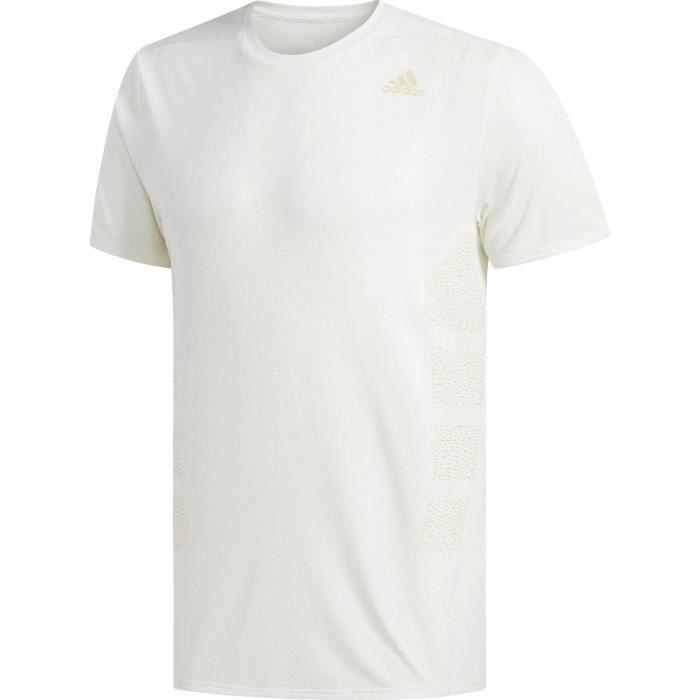 ADIDAS T-shirt de running Supernova - Homme - Blanc