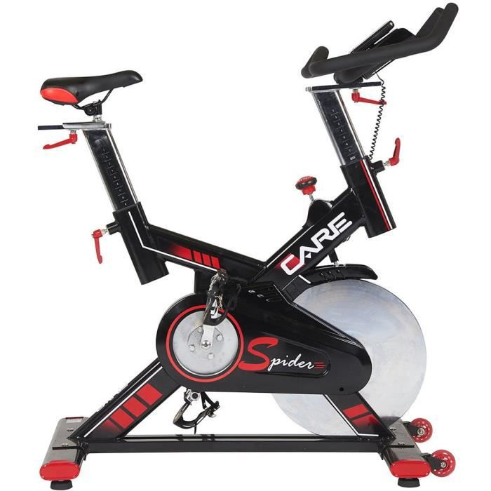 CARE Vélo Spin Bike Spider electronique